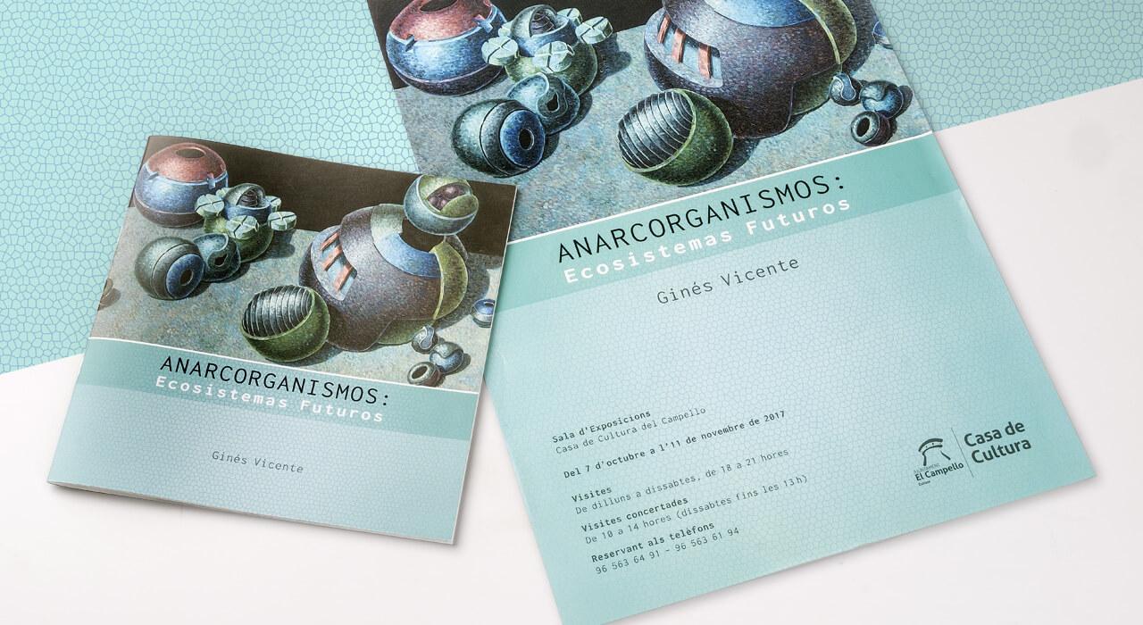 Diseño catálogo arte