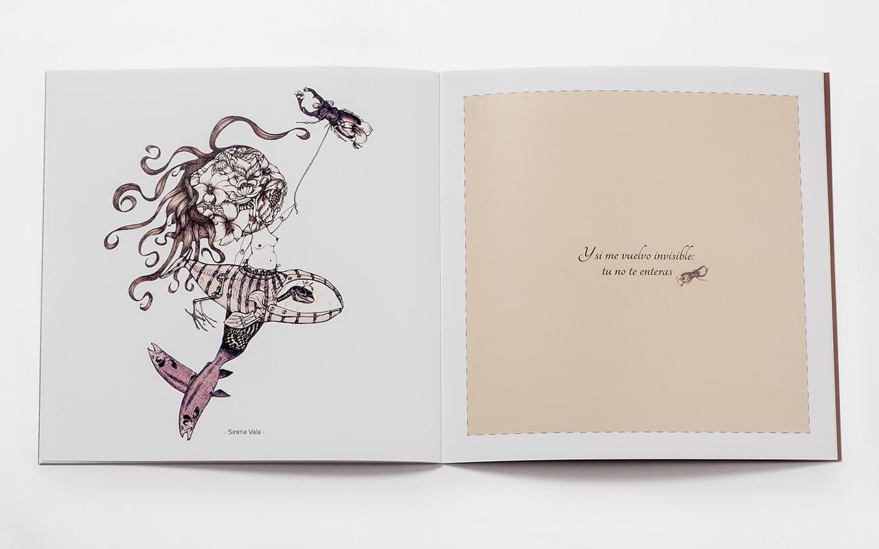 El diseño y las ilustraciones a favor de la obra