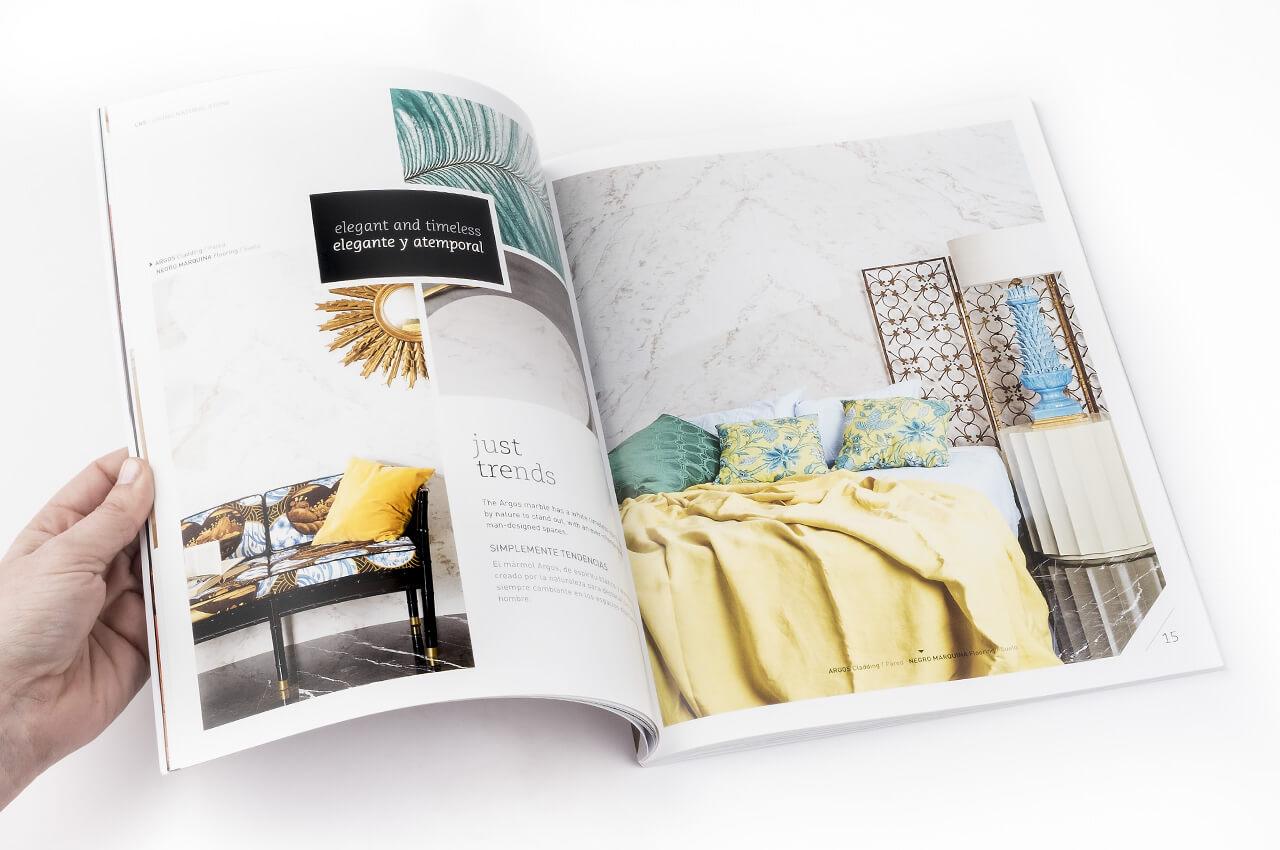 Del diseño a la impresión del catálogo de producto