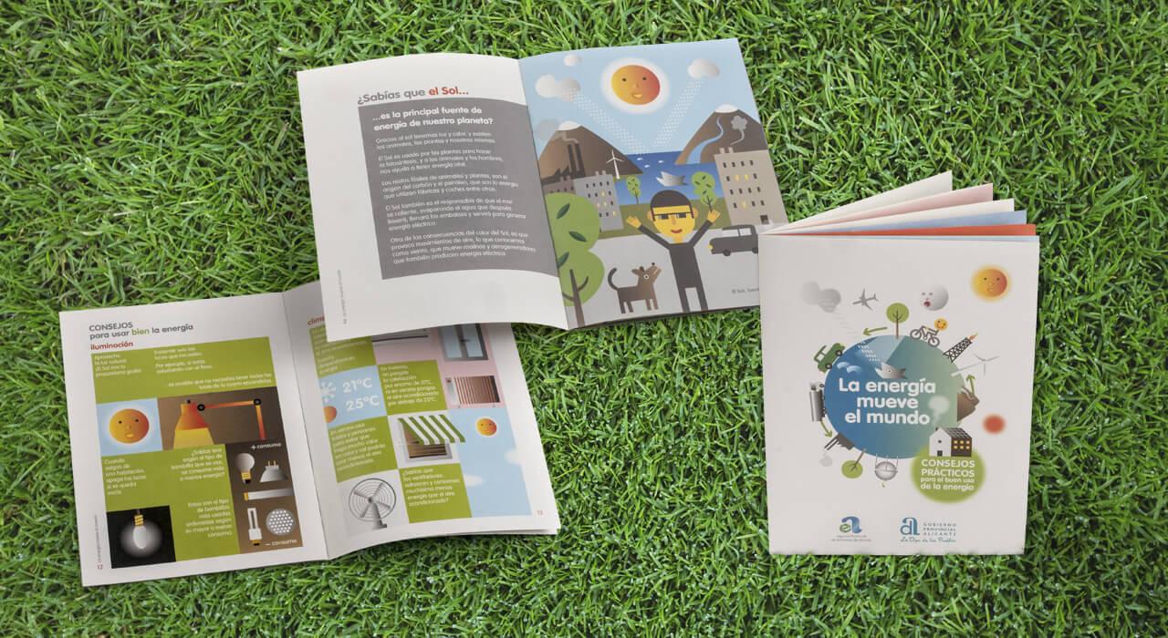 diseño folletos informativos