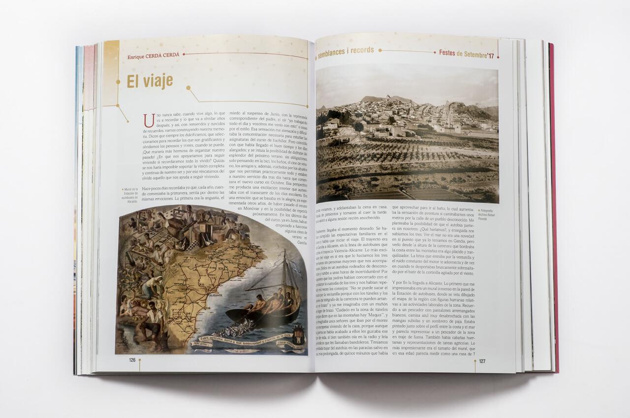 La historia tiene su lugar en revistas y programas