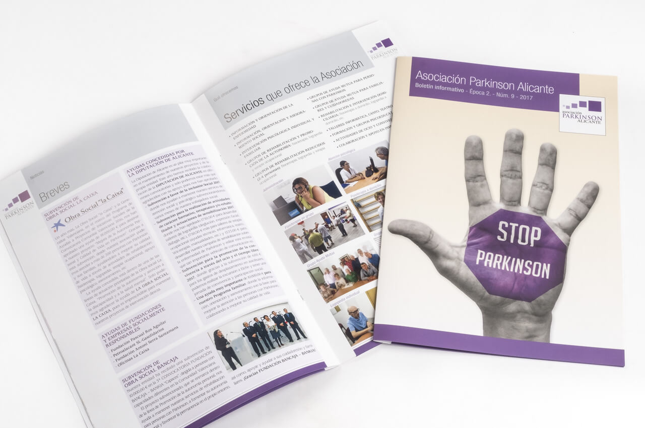 Diseño de revistas, publicaciones y boletines periódicos